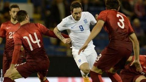 England Under-21 striker Dany Ings