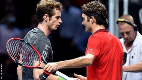 Andy Murray & Roger Federer