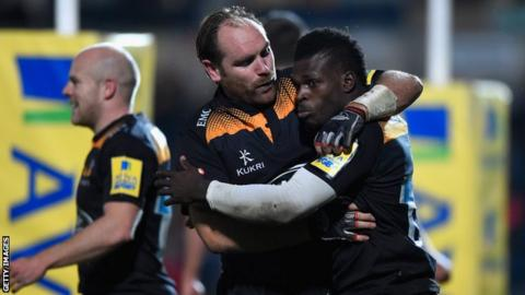 Christian Wade and Andy Goode