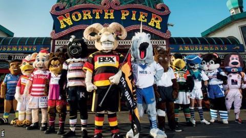 Championship club mascots