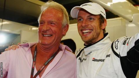 Jenson Button and John Button