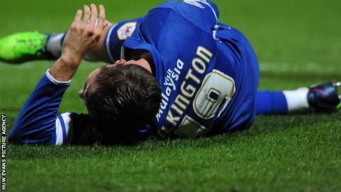 Anthony Pilkington of Cardiff City