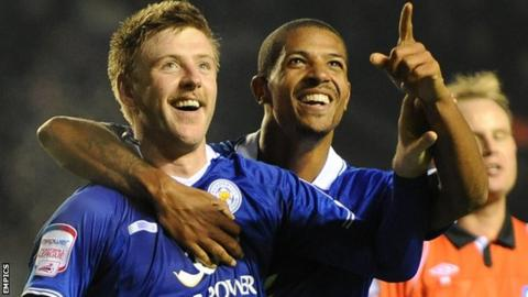Paul Gallagher and Jermaine Beckford