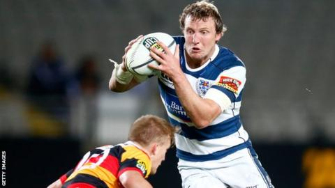 Hadleigh Parkes Scarlets Centre Hadleigh Parkes joins from Kiwi side Auckland BBC