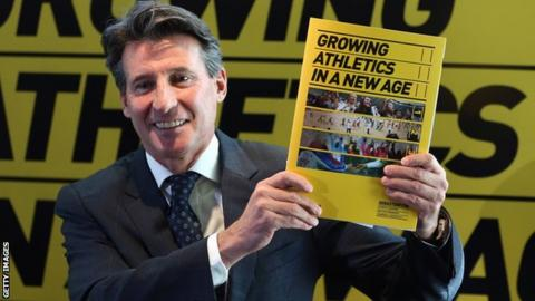 Lord Coe holds his presidential manifesto