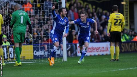 Cardiff City are coming off the back of a 1-0 win at Watford