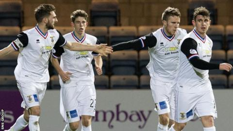 Inverness scored a late winner at Dens Park