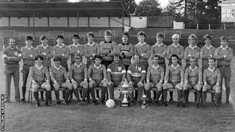 Stirling albion 30th anniversary of 20 goal cup victory for League table 1984 85