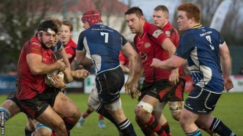 Jersey vs Leinster A