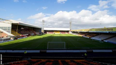 Fir Park, home of Motherwell