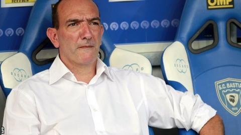 Bastia: Pierre-Marie Geronimi is the club president