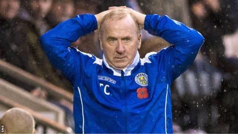 Former St Mirren manager Tommy Craig