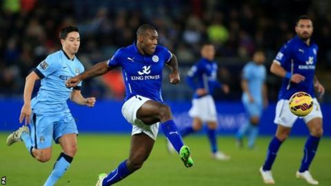 Leicester City lost again against Manchester City on Saturday