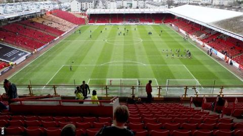 Aberdeen's Pittodrie Stadium