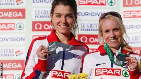 Kate Avery (left) Gemma Steel (right)