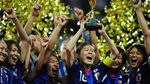 Japan win Women's World Cup