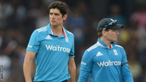 Alastair Cook & Eoin Morgan