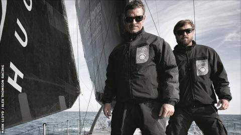 Pepe Ribes and Alex Thomson
