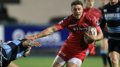Scarlets fly-half Rhys Priestland has won 32 caps for Wales