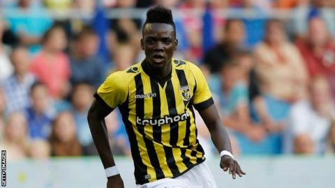 Burkina Faso and Vitesse Arnhem's Bertrand Traore