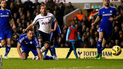 Harry Kane scores for Spurs