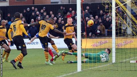 Newport County are now on a three-match winning streak after beating Carlisle United