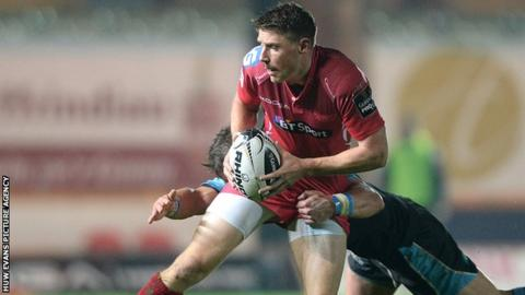 Wales fly-half Rhys Priestland has come up through the ranks at Scarlets
