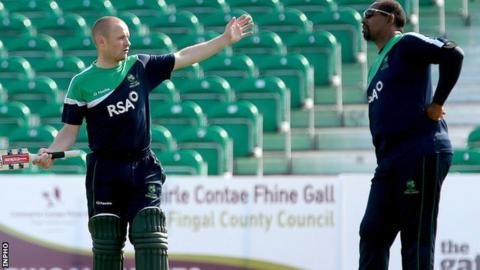 William Porterfield will lead the Ireland team coached by Phil Simmons
