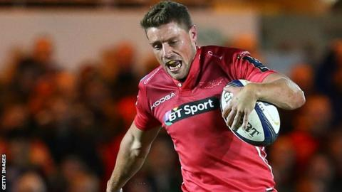 Wales fly-half Rhys Priestland came up through the ranks at Scarlets