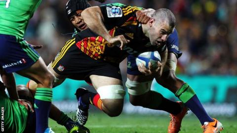 Back-row Nick Crosswell has played for the Chiefs, Hurricanes and Highlanders in Super 14 rugby