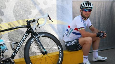 Mark Cavendish ahead of stage three of the 2013 Tour de France