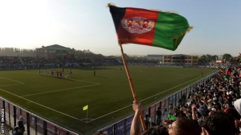 Afghanistan football stadium