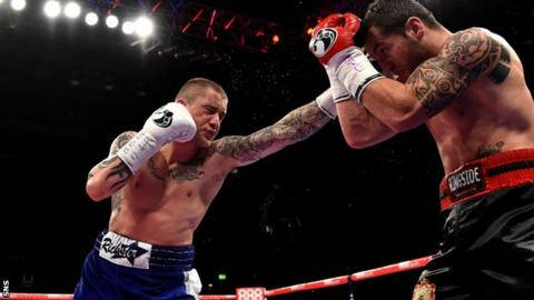sport boxing ricky burns next fight could