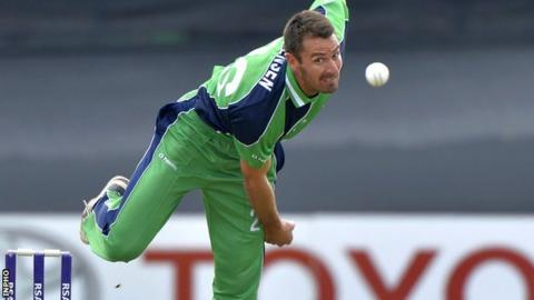 Pace bowler Max Sorensen was a notable omission from the original Ireland World Cup squad
