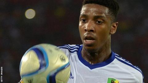Congo striker Dominique Malonga