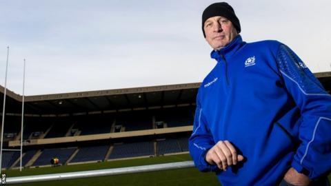 Vern Cotter has named four uncapped players in his Scotland squad for the Six Nations