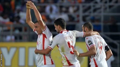 Tunisia celebrate