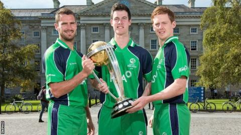 George Dockrell, Max Sorensen and Craig Young are preparing for the Cricket World Cup