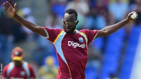 West Indies spinner Nikita Miller