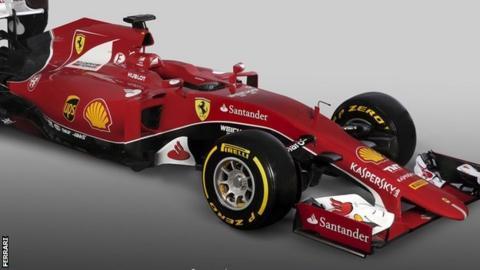 Ferrari's SF15-T