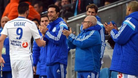 Marseille forward Andre-Pierre Gignac