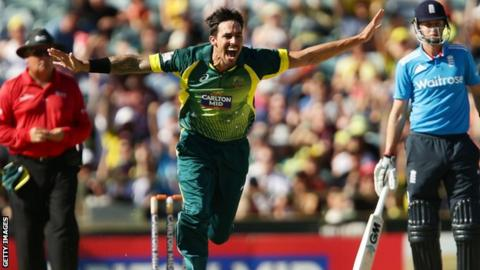 Mitchell Johnson, Australia v England