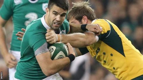 Conor Murray made his senior Ireland debut in August 2011