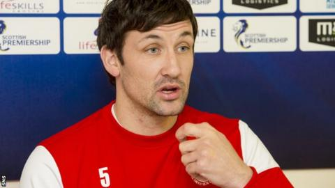 Hamilton player-manager Martin Canning