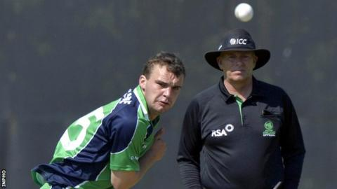 Andrew McBrine in action against Sri Lanka A last summer