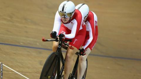 Commonwealth Games champions Sophie Thornhill and Helen Scott