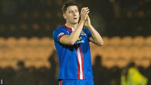 Inverness Caledonian Thistle defender Josh Meekings