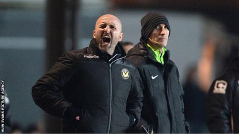 Newport caretaker manager Jimmy Dack