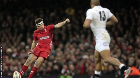 Dan Biggar won the first of his 29 caps for Wales against Canada in 2008