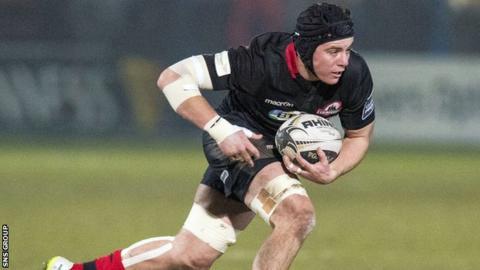 Hugh Blake made his Edinburgh debut on Friday night